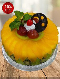 Mixed Fresh Fruit Cake