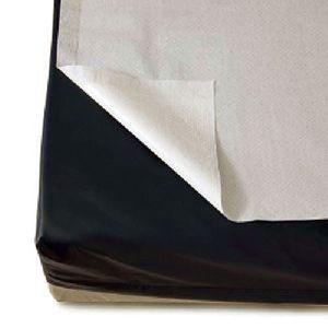 white non-woven disposable bed sheet