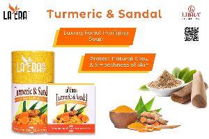 LA ERA TURMERIC & SANDAL SOAP