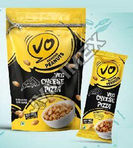 Veg Cheese Pizza Roasted Peanuts