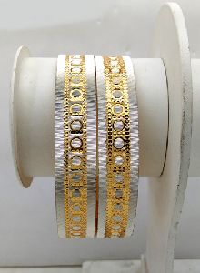 Gold Plated Shagun Bangles