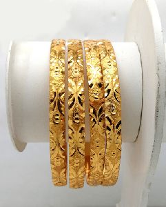 Traditional Gold Plated Shagun Bangles