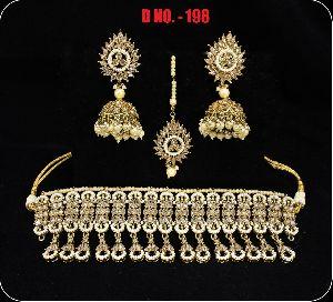 D.No. 198 Imitation Necklace Set