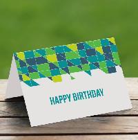 Printed Greeting Card