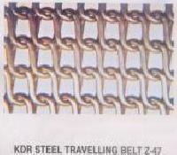 Steel traveling belt