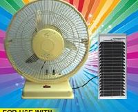 Solar Wall Mounted Fan