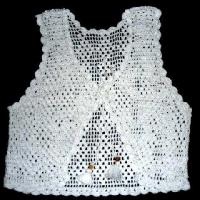 Handmade Crochet Ladies Vest