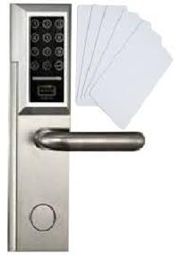 card-key operated access control door locks