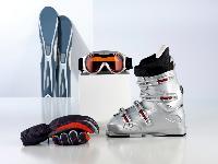 skiing equipments