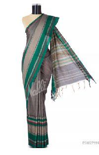 Wood Brown Narayanpet Cotton Saree