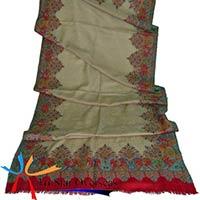 Antique Kashmiri Kani Wool Shawl