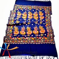 Fashion Wool Kashmiri Embroidery Shawl