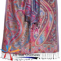 Indian Viscose Antique Shawl
