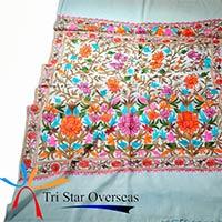 Kashmiri Embroidered Wool Shawl