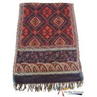 Woven Woolen Shawls: 4113