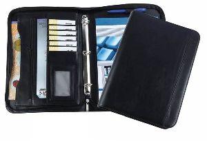 Leather 3 Ring Binder Folder