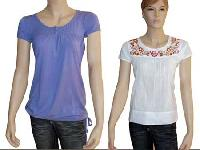 Ladies Cotton Knitted Tops