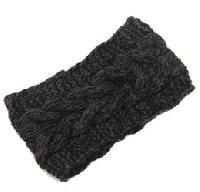 crochet knitted plain elastic