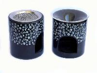 AROMA OIL BURNER WITH GLASS BOWL