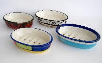 Ceramic Oval Soap Dishes