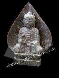 STONE BUDDHA FIGURINE