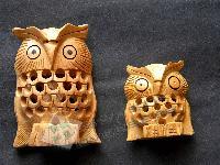Wooden Owl Undercut