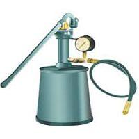 Manual Hydraulic Test Pump