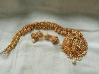 Temple Look Necklace Set
