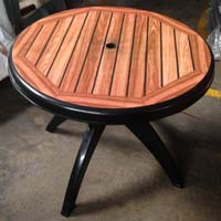 Injection Molded Plastic Dining Table