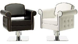 Solo White Hair Dressing Chair