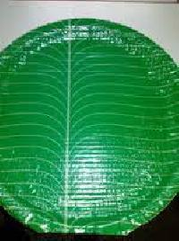 Green Buffet Plate