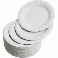 White Buffet Plate