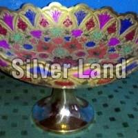 Brass Decorative Basket