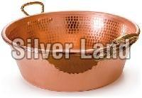Copper Bowl With Handle