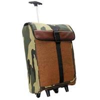 Jute Trolley Luggage Bags