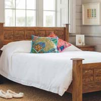 Gaj Raj Wooden Bed