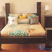 Indian Low Pillar Bed