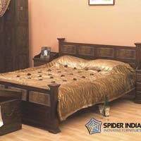Jaipur Wooden Bed