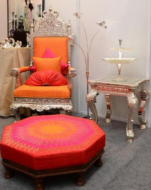 Royal Silver Chair