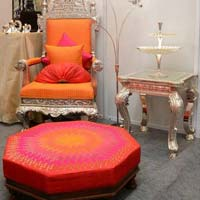 Royal Silver Thrones & Chair