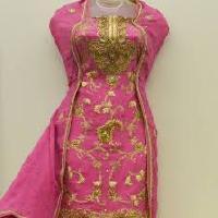 Unstitched Designer Punjabi Suits
