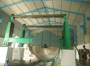 Single Blade Block Cutter Machine