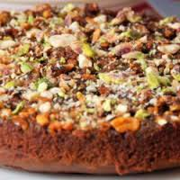 Brown Nut Cake