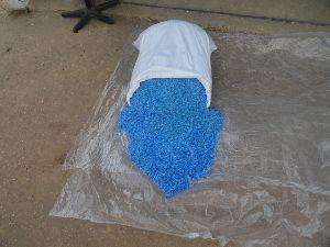 PET Blue Flakes 01