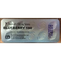 Blueberry 100 Tablets