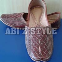 Gents Plain Punjabi Jutti