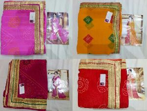 Bandhani Saree For Navratri