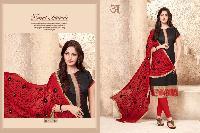 kalyan Silk Churidar Suits