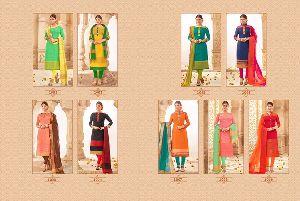 Khadi Silk Dress Material