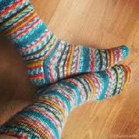 Socks Knitted Yarns